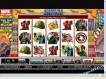 nyerőgépek ingyen Captain America CryptoLogic