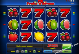 nyerőgépek ingyen Fruits 'n Sevens Novomatic