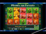 nyerőgépek ingyen Plenty on Twenty Novomatic